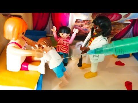 رؤى وجنه اخدو حقنة عشان ماسمعوش كلام ماما عائلة عمر جنه ورؤى قصص اطفال Playmobil Youtube Ronald Mcdonald Ronald Mcdonald