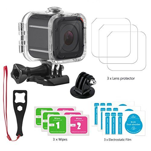 Accessories Compatible Gopro Hero 5 Session Waterproof Housing Protective Case For Gopro Hero5 Session 45m Underwater D Protective Cases Gopro Hero Gopro Case