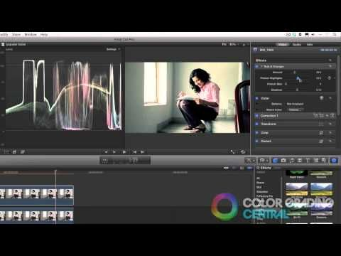 12. Final Cut Pro X Color Correction Tutorial: Popular Looks - YouTube