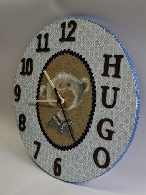 Las ideas de Yoli: Reloj para Hugo