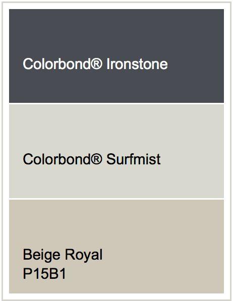 Exterior Option with Surfmist Windows     Roof - Ironstone    Render - Beige Royal
