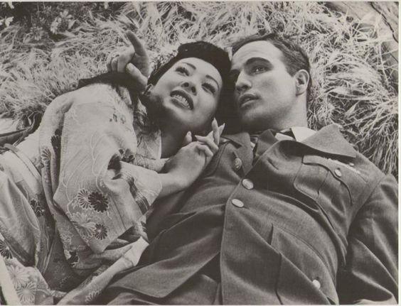 Marlon Brando in Sayonara (1957) #Brando #1957 #Sayonara #movie