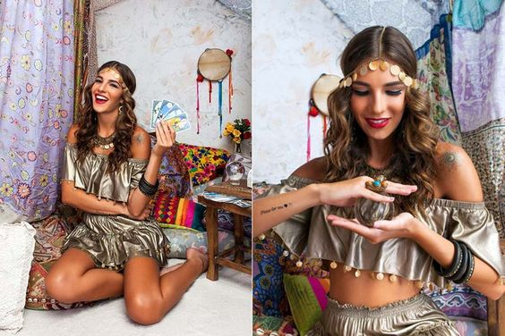 Fantasias de Carnaval da Dress To pra 2015 - Cigana: