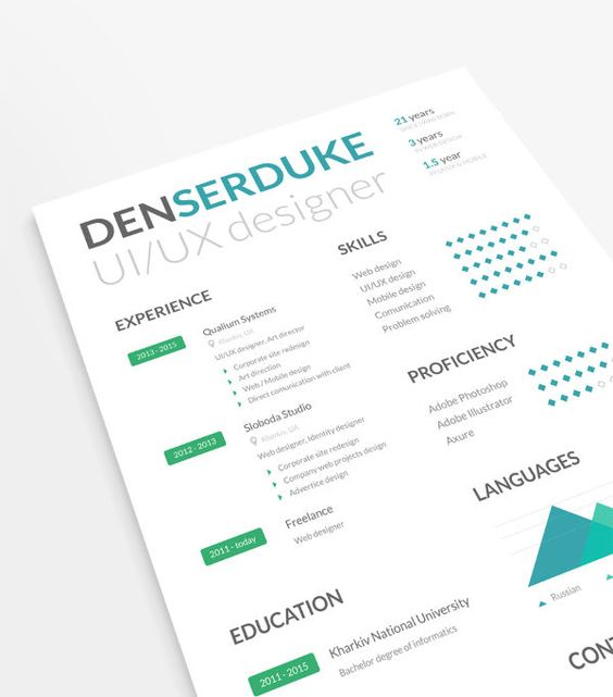 free resume template with business cards Design Resumes - microsoft free resume templates