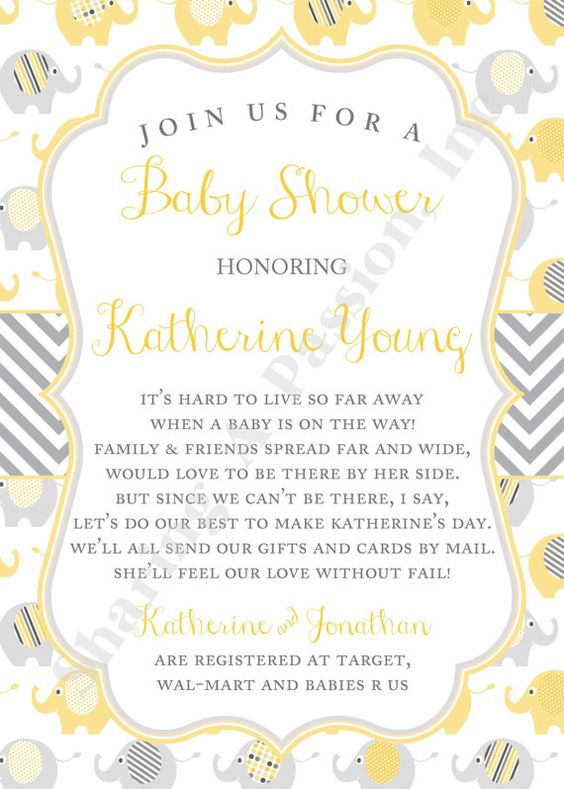 baby eli baby and more long distance baby shower invitations shower
