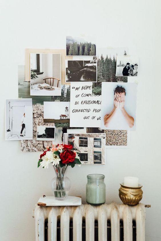 10 Cute Photo Decor Ideas for Your Dorm   http://www.hercampus.com/diy/decorating/10-cute-photo-decor-ideas-your-dorm