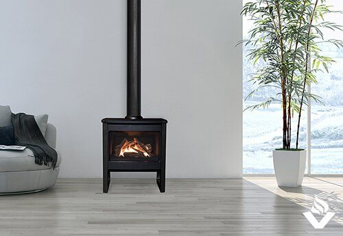 Valor Madrona Modern Gas Stove Vancouver Gas Fireplaces Freestanding Fireplace Wood Burning Stoves Living Room Gas Fire Stove