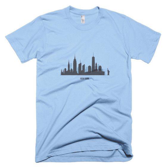 Short sleeve men's t-shirt - New York