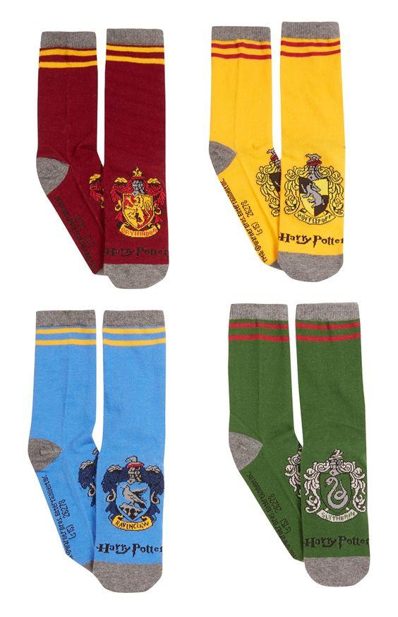"""""""Harry Potter"""" Socken, 4er-Pack"""