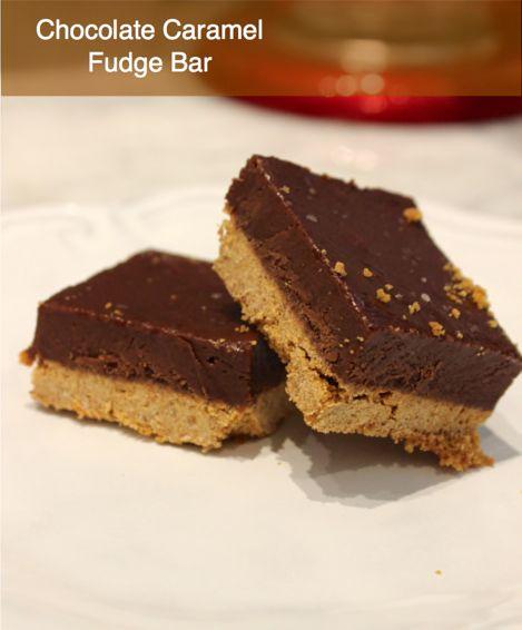 Chocolate Caramel Fudge Bars