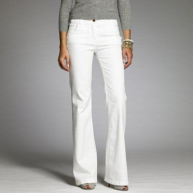 white jeans for women-How to pull off white jeans for any women ...