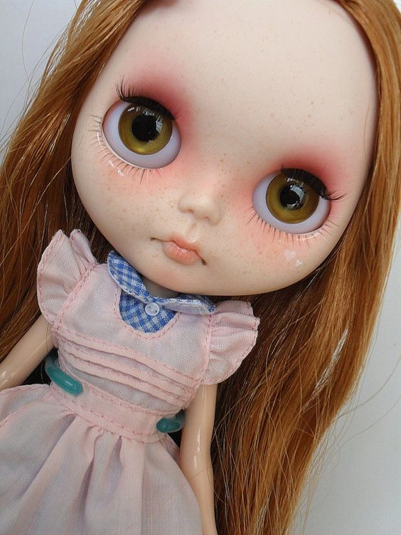 Coralie OOAK Blythe doll custom by SamPuppen on Etsy