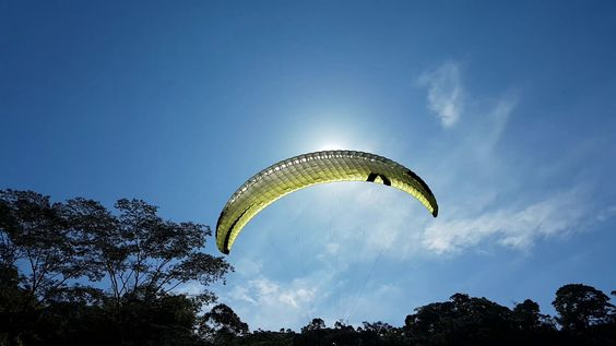 Paragliding over giant waterfalls - Image 10