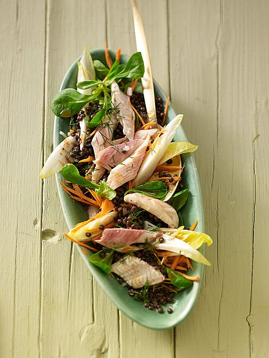 Linsensalat mit geräuchertem Fisch, ein sehr schönes Rezept aus der Kategorie Fisch. Bewertungen: 23. Durchschnitt: Ø 4,3.
