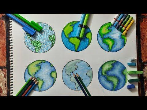 1da63bc2cbf31db56d188d7a38f7c237 » Earth Drawing Easy