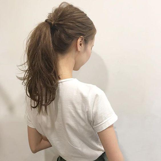 髪の結び方の名称一覧 簡単にできるアレンジヘア 結び方をご紹介し