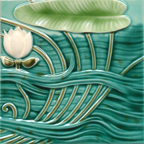 art deco tile golem kunst und baukeramik tile style 1. Black Bedroom Furniture Sets. Home Design Ideas