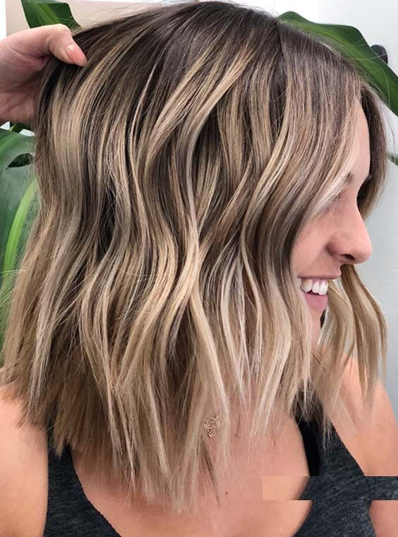 Fantastic ideas of balayage hair colors and highlights for all those fashionable ladies who are searching for latest trends of hair colors right now. You have to know that, balaayge has become one of the most popular hair colors in 2018. It is growing more and more popularity in year 2018.