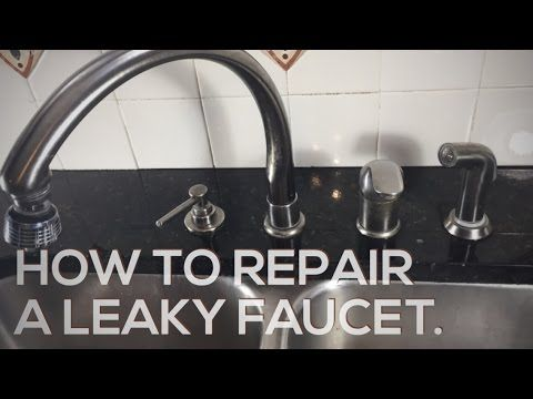 How To Repair A Leaky Delta Faucet Youtube Delta Kitchen Faucet Kitchen Faucet Faucet