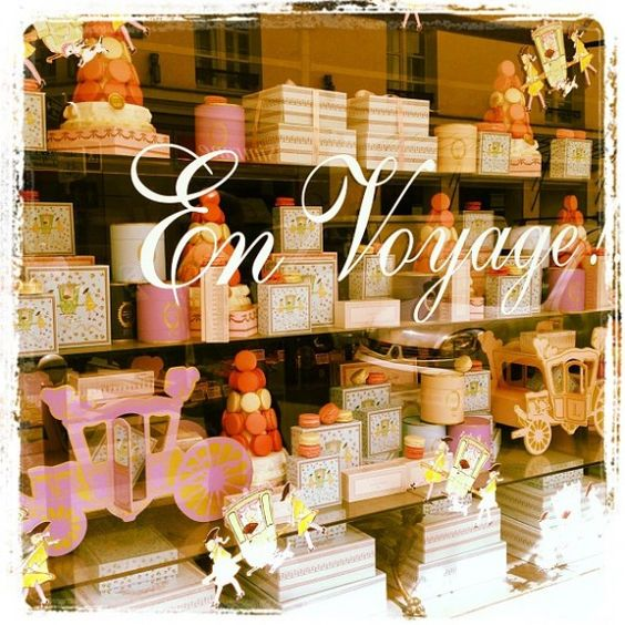 Laduree in Paris