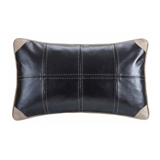 @Overstock - Woolrich River Run Oblong Throw Pillow - For a slightly modern look and feel, this faux leather pillow would be the perfect accent to your different living areas. Create a sense of contemporary comfort with this unique take on the classic throw pillow design.  http://www.overstock.com/Home-Garden/Woolrich-River-Run-Oblong-Throw-Pillow/9232732/product.html?CID=214117 $44.99