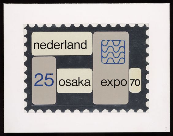 Osaka Expo 70 (by Wim Crouwel) — The Nederlands (1970)