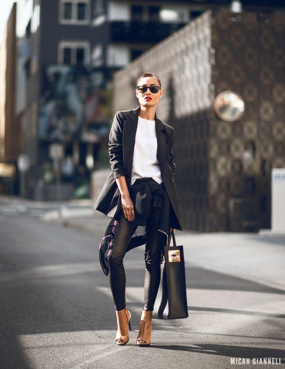 leather pants looks - Pesquisa Google