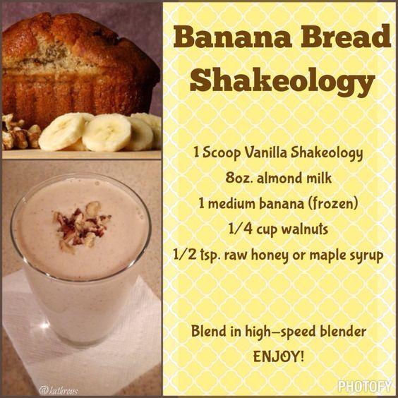 Banana Bread Shakeology