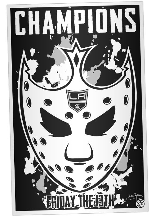 Cup Royalty Print - 2014 Stanley Cup Champions LA Kings #stanleycupchampions #lakings