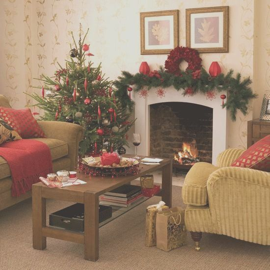 29 Christmas Mantel Designs That Proper For Your Living Room In 2021 Christmas Decorations Living Room Christmas Living Rooms Christmas Interiors Living room christmas decorations 2021