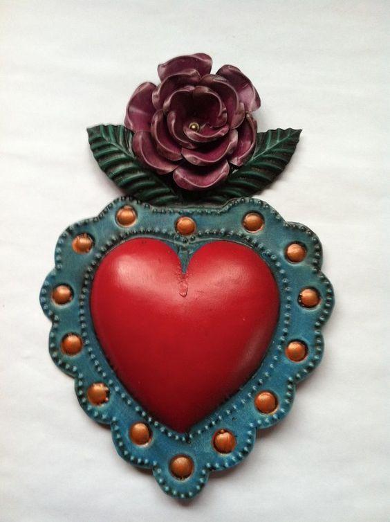 ♥ Coração, A Chave... Mujeres Mexican Folk Art