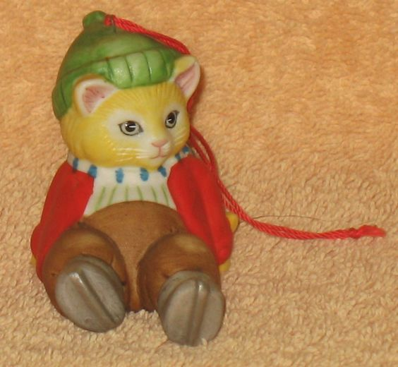 VINTAGE KITTY CUCUMBER JB BUSTER FALLEN SKIER MNB in Collectibles, Decorative Collectibles, Decorative Collectible Brands | eBay