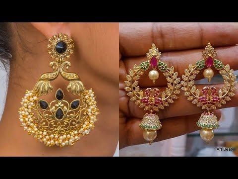 11+ Chand bali gold earrings designs information