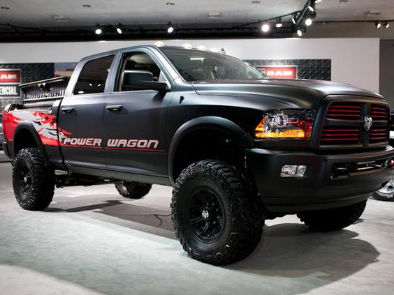 2012 la auto show mega gallery pictures ram power wagon dodge rams and do. Cars Review. Best American Auto & Cars Review