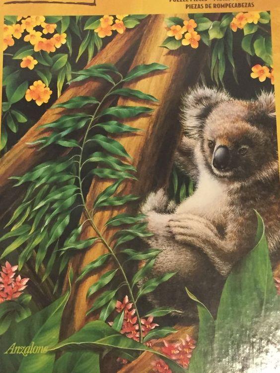 Koala Kingdom Lori Anzalone 1000 Piece Jigsaw Puzzle Gallery Bear Tree Marsupial #Hasbro