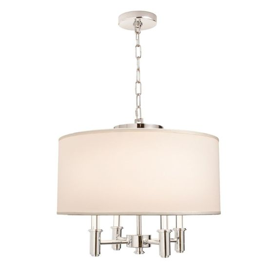 Kalco Lighting 500571CH DuPont 4 Light Pendant In Chrome is made by the brand Kalco Lighting and is a member of the DuPont collection. It has a part number of 500571CH.