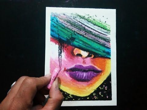 Easy Abstract Face Painting Tutorial Pastel Colours