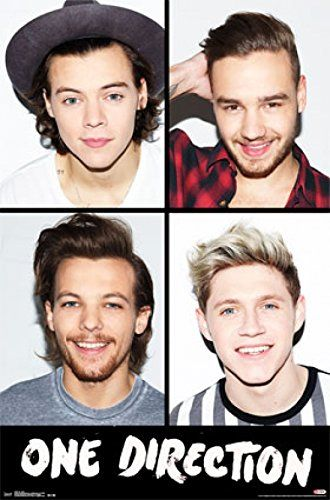One Direction 1D - Grid Poster Print (24 x 36) Price: $9.50 http://astore.amazon.com/1dstore-20/detail/B011FONQGE