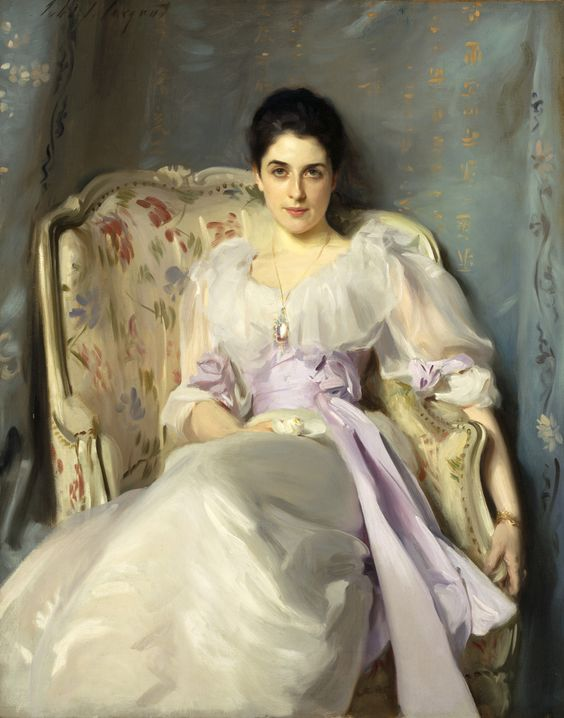 Lady Agnew of Lochnaw (1865 - 1932) by John Singer Sargent from National Galleries of Scotland