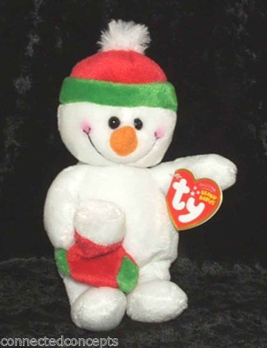 Christmas Ty Beanie Babies - Stocking the Snowman  - Available at Connected Concepts e-Commerce Shop at eBay Stores