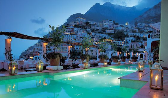 If you have never been to Positano you HAVE to go immediately. Just look at the view from The Sirenuse! SO AMAZING!