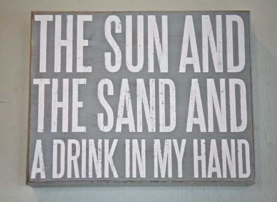i want to go to the beach. and drink bottomless daiquiris and mojitos. basically, anything with rum.