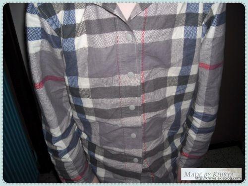 Sur mesure ... la chemise - Made By Khirya