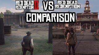 Red Dead Redemption 2 Rdr 1 Vs Rdr2 New Austin Map Comparison
