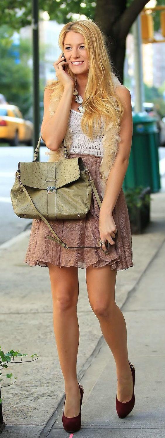 Serena van der Woodsen style - Outfit