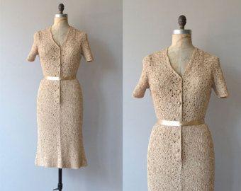 Vestido Boomtown vendimia vestido de los años por DearGolden