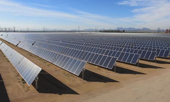New solar plant will charge huge battery for SRP - SRP announced a - power purchase agreement