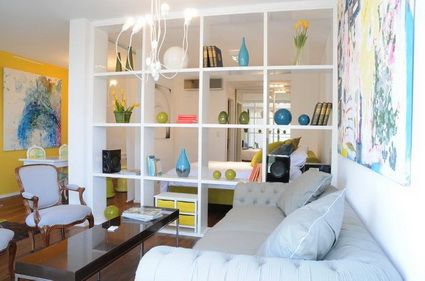 Ideas para dividir espacios en apartamentos tipo estudio - Ideas decoracion estudio ...