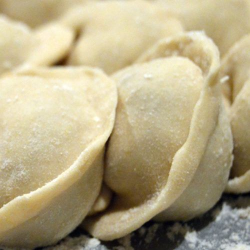 The Secret To A Soft Pierogi Dough Is Already In Your Fridge Recipe Sour Cream Recipes Recipes Using Sour Cream Perogie Dough Recipe