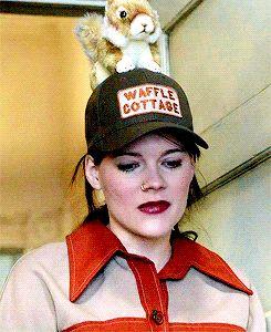 No one rocks a squirrel hat quite like Mandy Milkovich